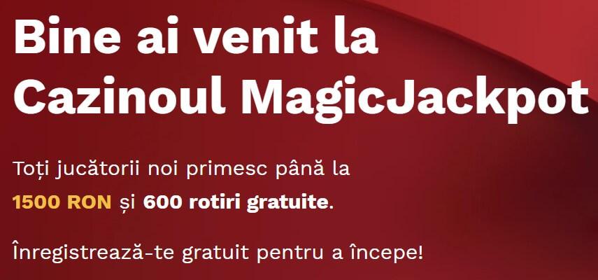 bonus bun venit magic jackpot